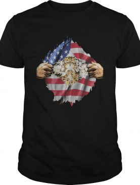 Baby Cat flag USA independence day shirt