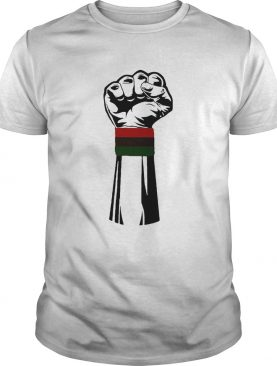 Black lives matter PanAfrican shirt
