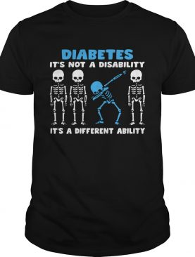 Diabetes Its A Different Ability shirt