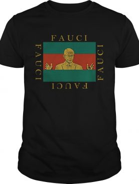 Fashion Designers Sell Fauci shirt