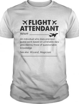 Flight attendant noun an individual who does precision guesswork based on unreliable data provided