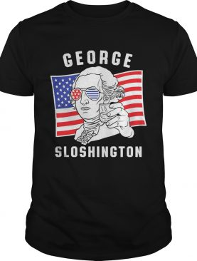 George sloshington American flag 4th of july shirt