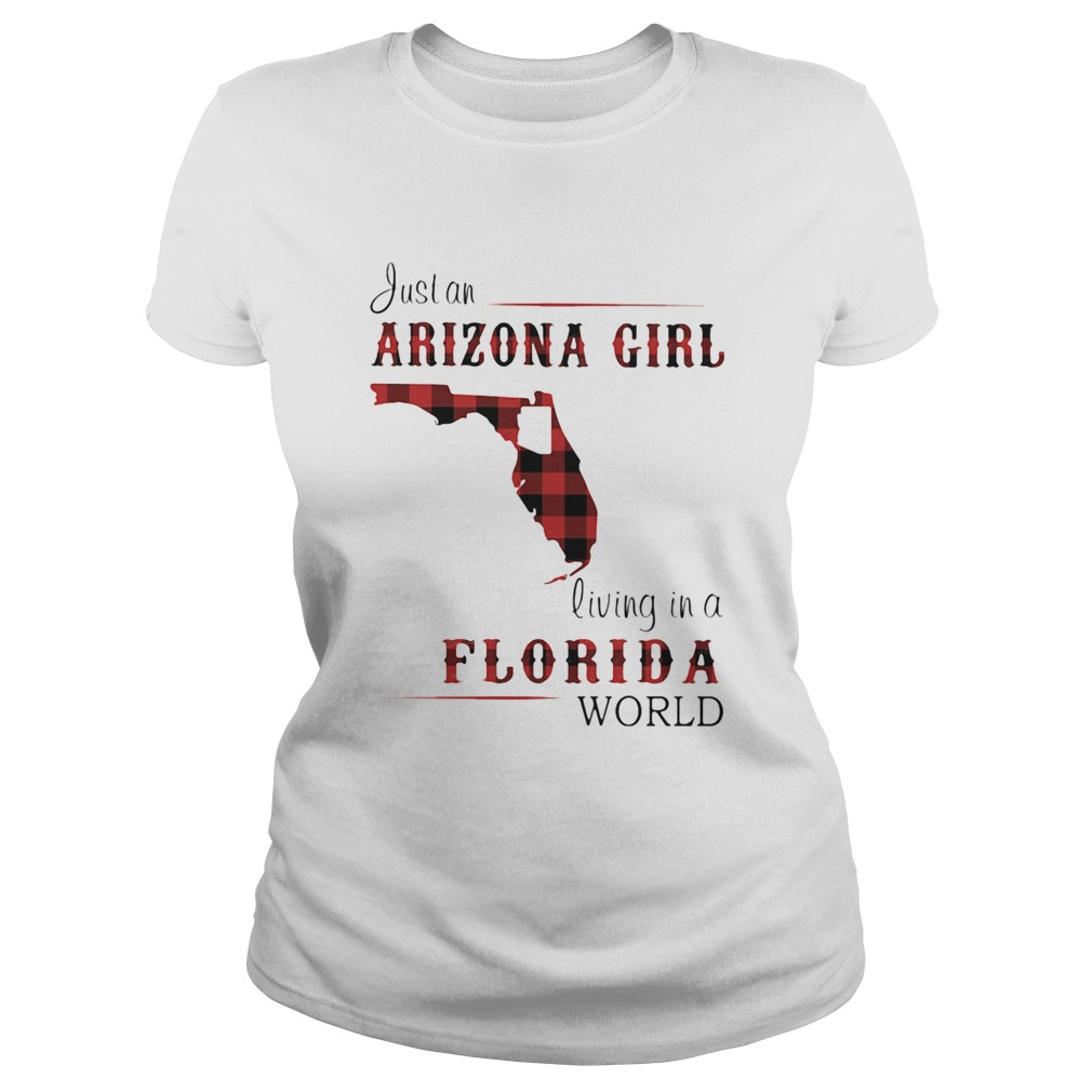 Just an alabama girl living in a florida world map  Classic Ladies