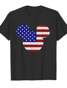 Mickey mouse american flag happy independence day shirt