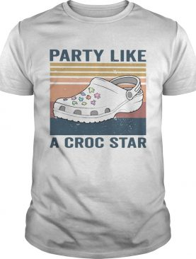 Party Like A Croc Star Vintage shirt