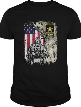 Usarmy veteran american flag independence day shirt