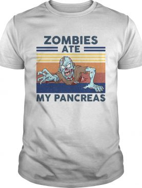 Zombies Ate My Pancreas Vintage shirt