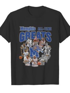 Memphis tigers all time great signatures shirt
