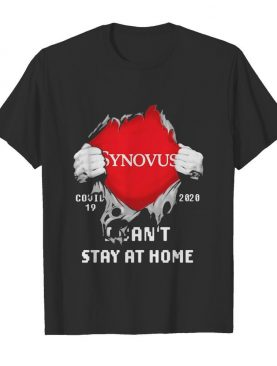 Synovus I can't stay at home Covid-19 2020 superman shirt