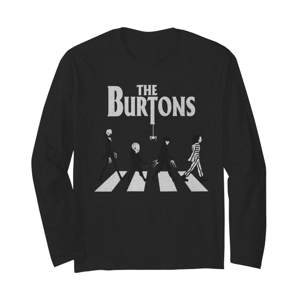 The Burtons Abbey Road  Long Sleeved T-shirt