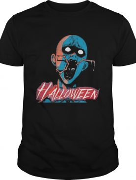 Halloween japan characters cartoon shirt