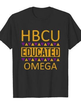 Hbcu educated omega psi phi vintage shirt