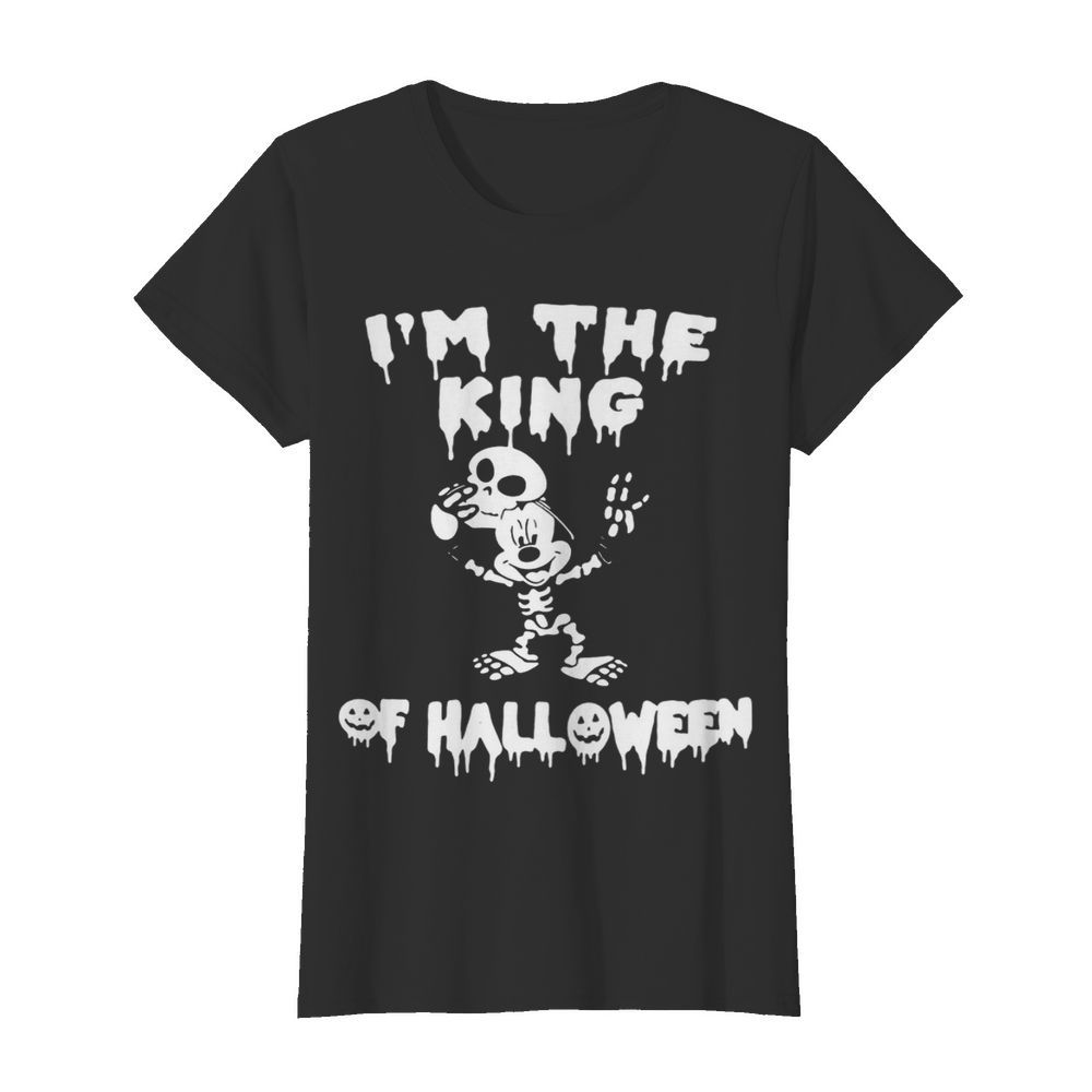 Im The King Of Halloween Mickey Mouse Disney  Classic Women's T-shirt