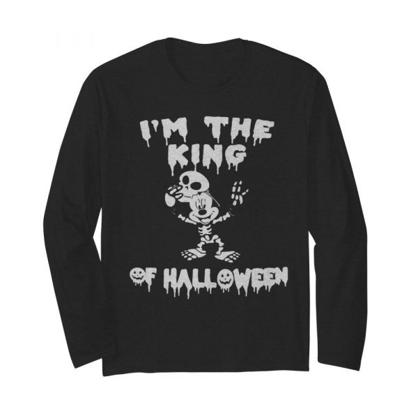 Im The King Of Halloween Mickey Mouse Disney  Long Sleeved T-shirt