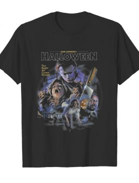 John Carpenters The Night He Came Home 41st Anniversary Thank You For The Memories Halloween shirt