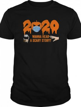 Pumpkin with Mask 2020 Scary Story shirt