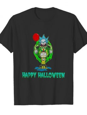 Rick and Morty Happy Halloween shirt