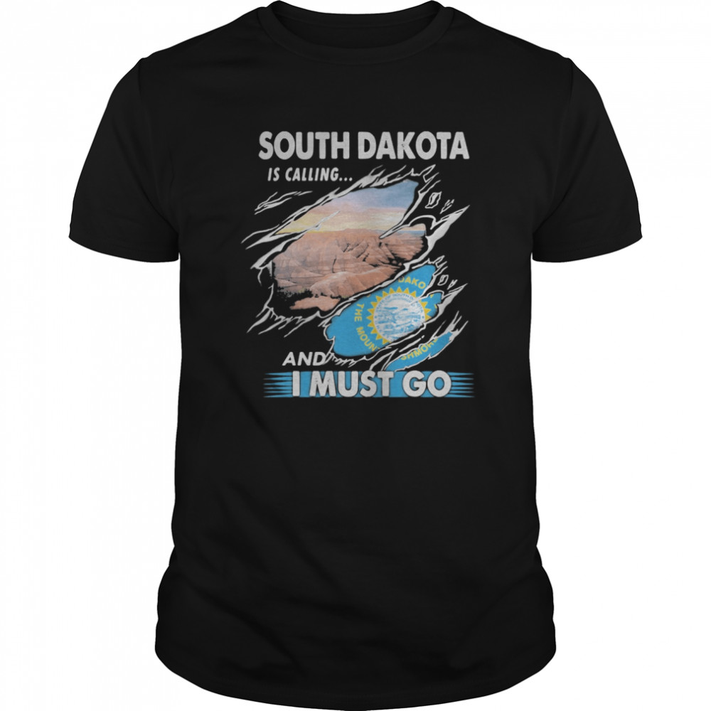 South Carolina is calling and I must go  Classic Men's T-shirt