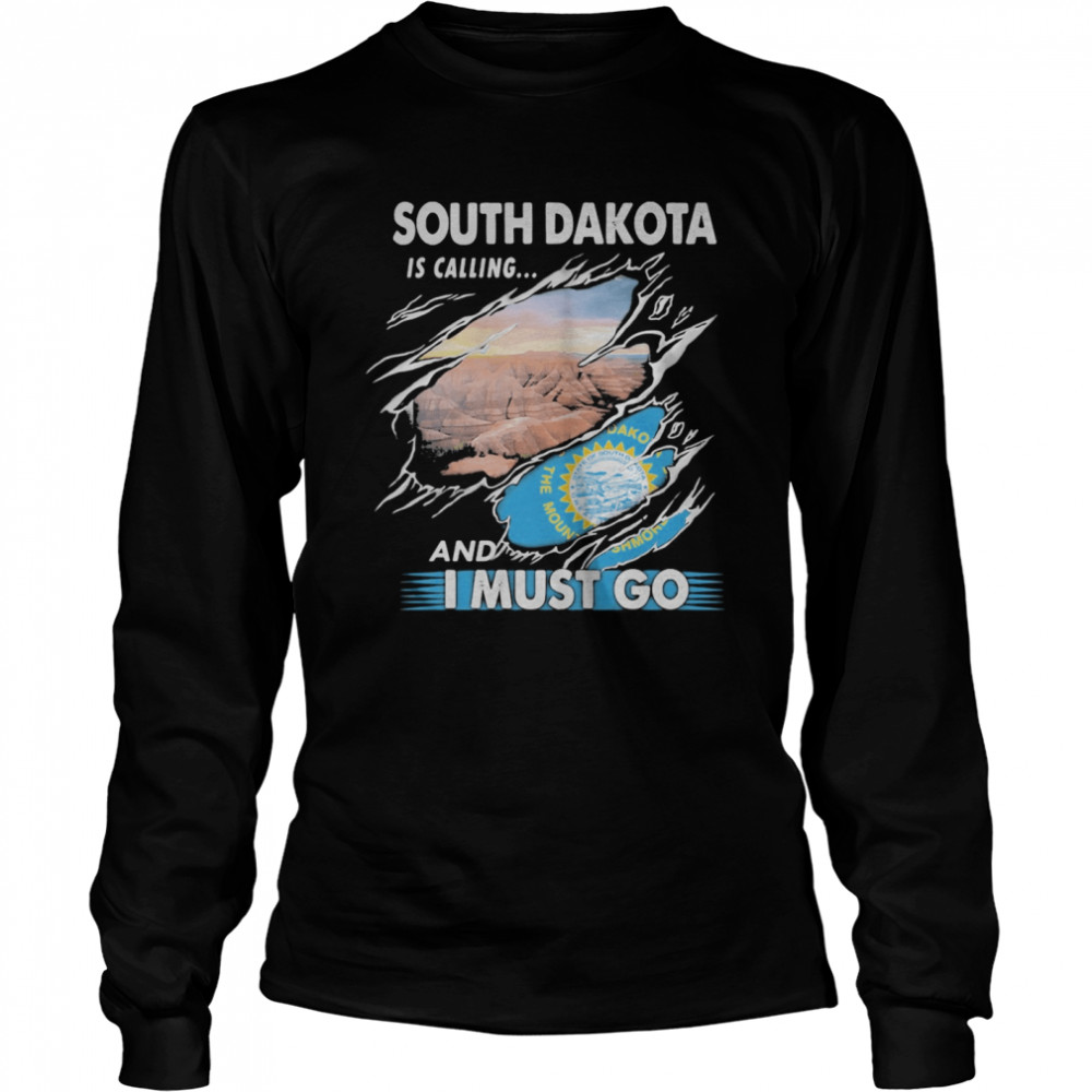 South Carolina is calling and I must go  Long Sleeved T-shirt