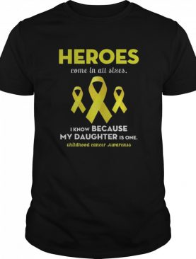 Support Childhood Cancer Awareness For My Daughter shirt