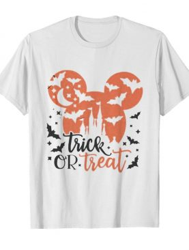 Halloween mickey mouse trick or treat shirt