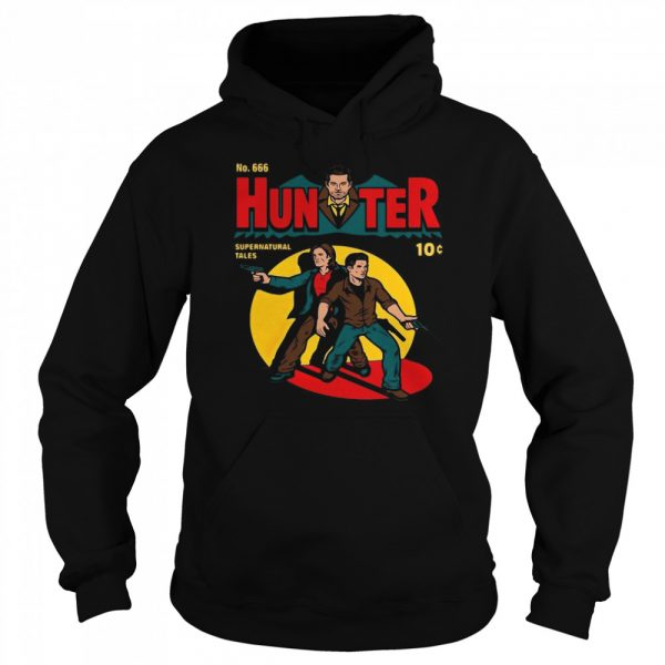 No 666 Hunter Comic Supernatural Tales  Unisex Hoodie