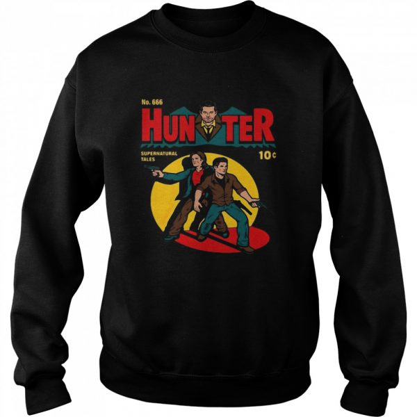 No 666 Hunter Comic Supernatural Tales  Unisex Sweatshirt