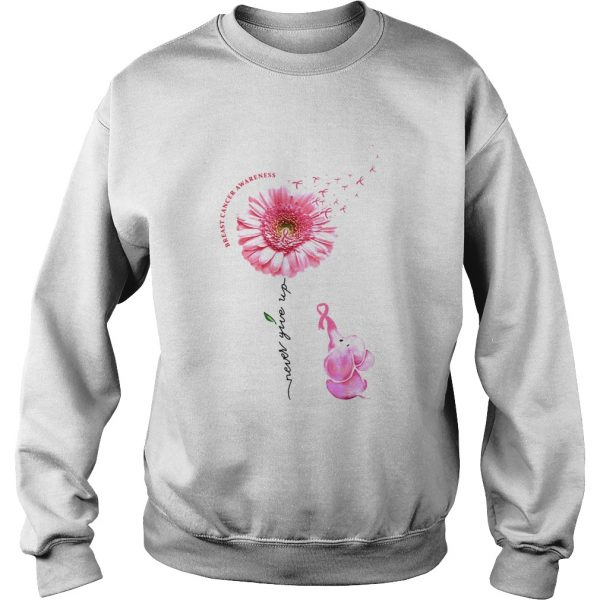 Breast Cancer Awareness Never Give Up  Sweatshirt