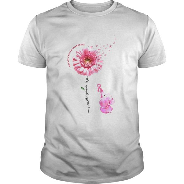 Breast Cancer Awareness Never Give Up  Unisex