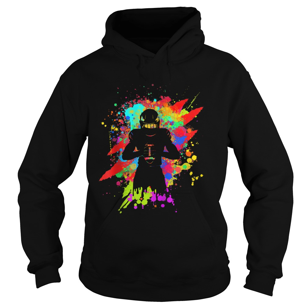 Cool American Football Player Star for color Sports  Hoodie