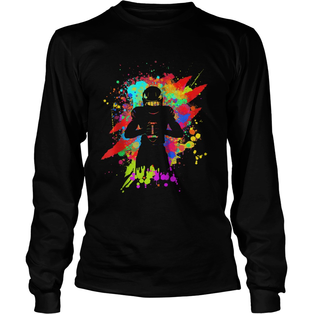 Cool American Football Player Star for color Sports  Long Sleeve