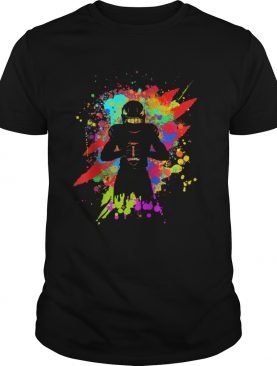 Cool American Football Player Star for color Sports shirt