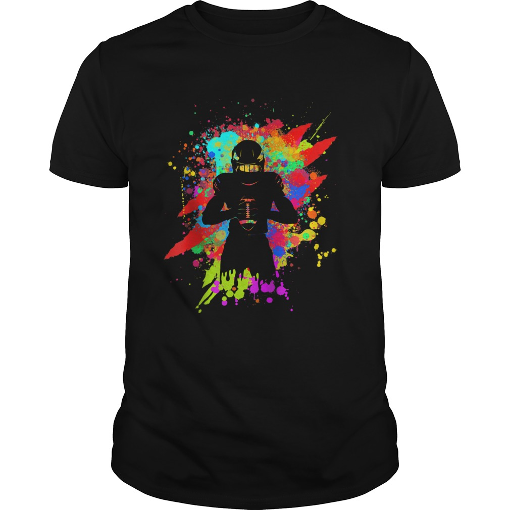 Cool American Football Player Star for color Sports  Unisex