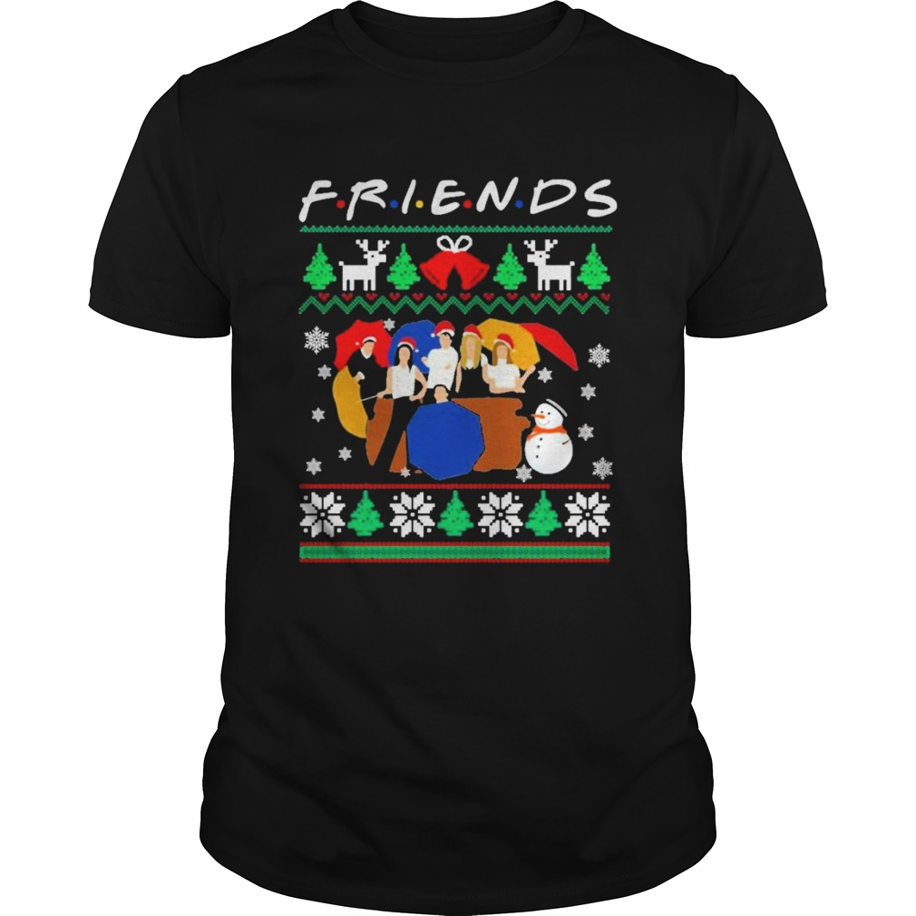 Friends tv show christmas 2020 ugly  Unisex