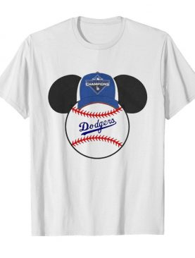 L.A Dodgers Mickey Mouse Champions 2020 shirt