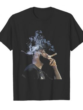 Lebron James Smoking Cigar shirt