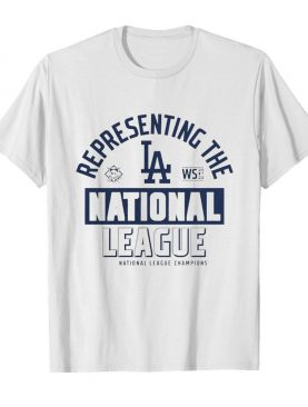 Los Angeles Dodgers Fanatics Branded 2020 National League Champions Locker Room shirt