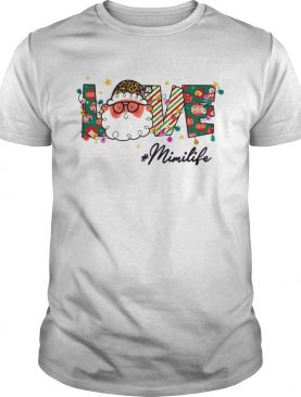 Love Mimi Life Christmas Santa Claus shirt