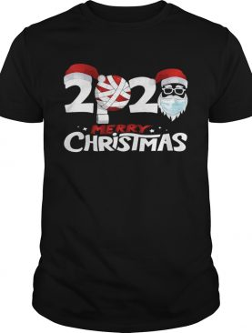 Merry Christmas 2020 Funny Santa Quarantine Xmas Face Mask shirt
