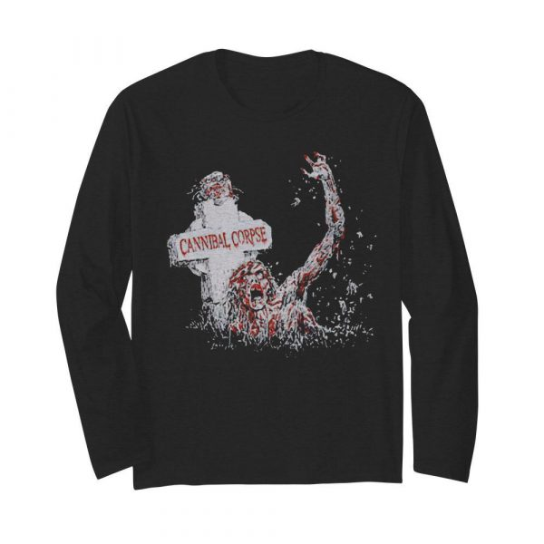 Top Scary Cannibal Corpse  Long Sleeved T-shirt