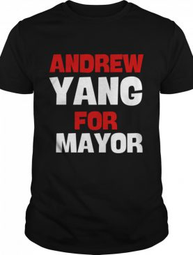 Andrew Yang For Mayor Essential shirt