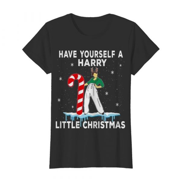 Have yourself Harry little Christmas ugly  Classic Women's T-shirt