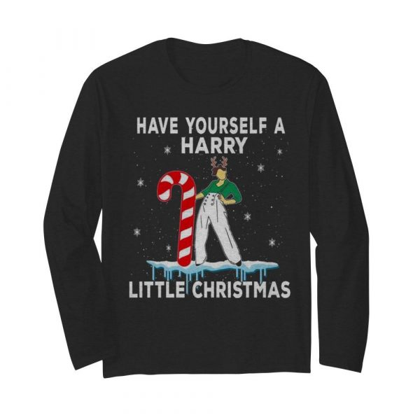 Have yourself Harry little Christmas ugly  Long Sleeved T-shirt