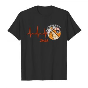 Heartbeat Volleyball Busy Raising Ballers Smith  Classic Men's T-shirt