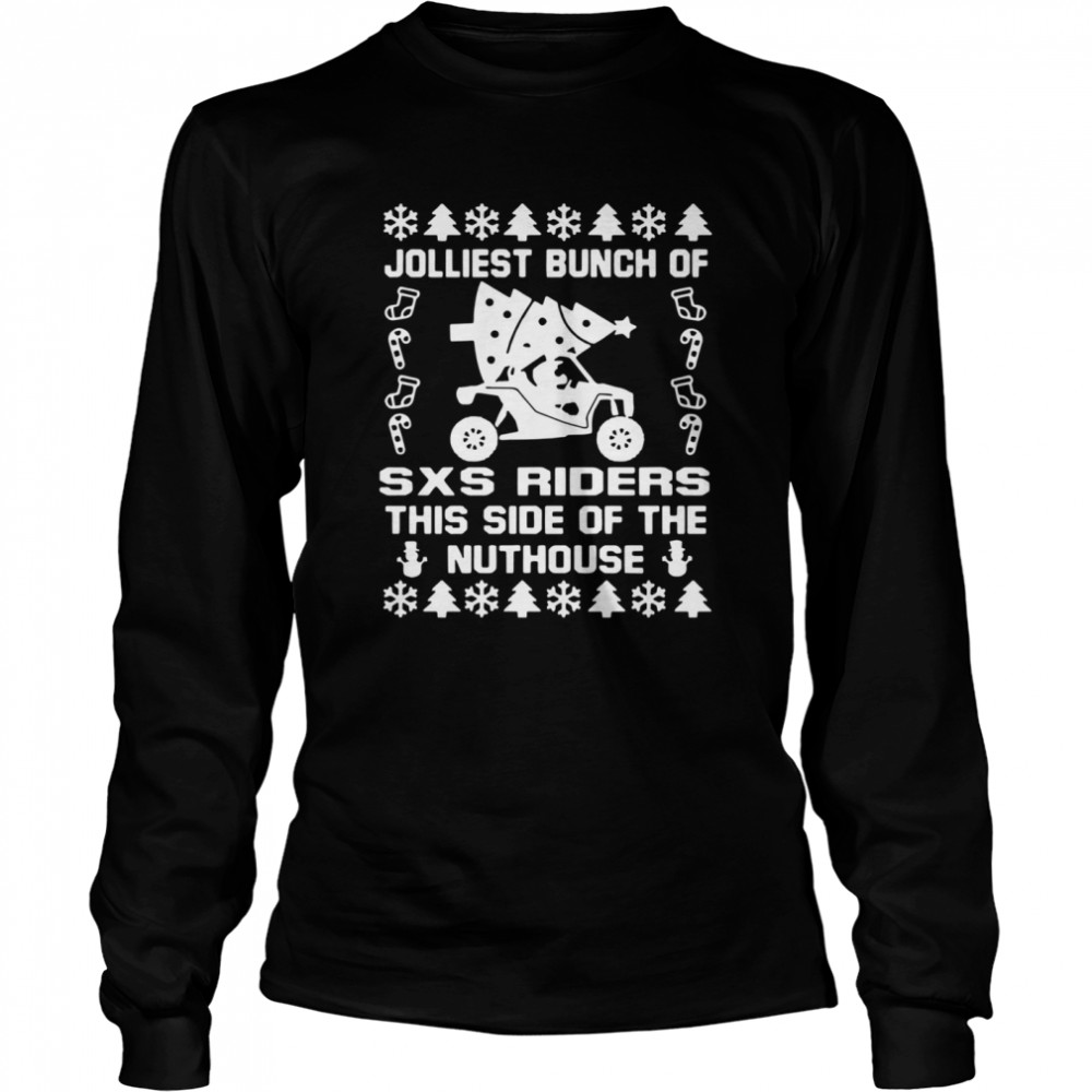 Jolly SXS Riders Nuthouse Christmas  Long Sleeved T-shirt