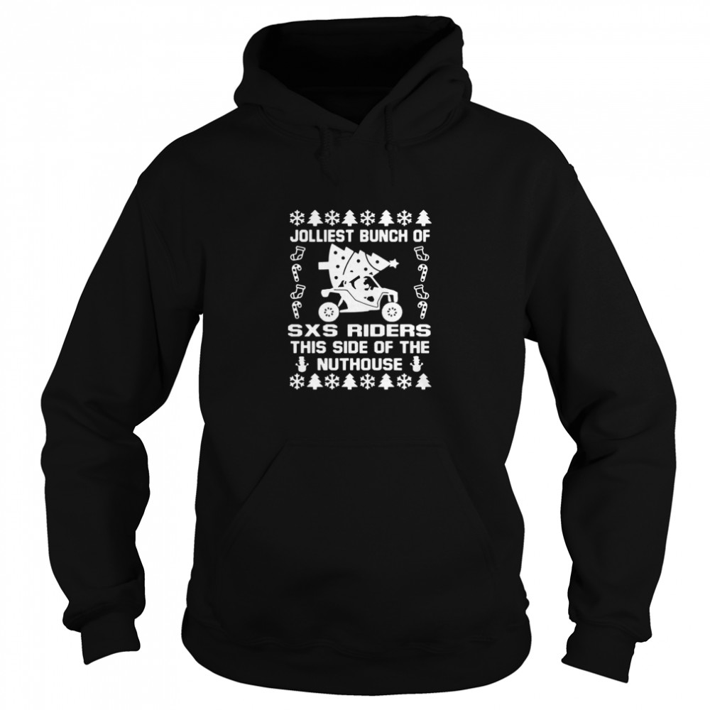 Jolly SXS Riders Nuthouse Christmas  Unisex Hoodie