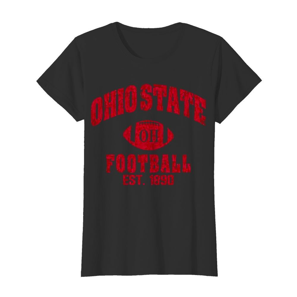 State Of Ohio Est 1890 Vintage Football  Classic Women's T-shirt