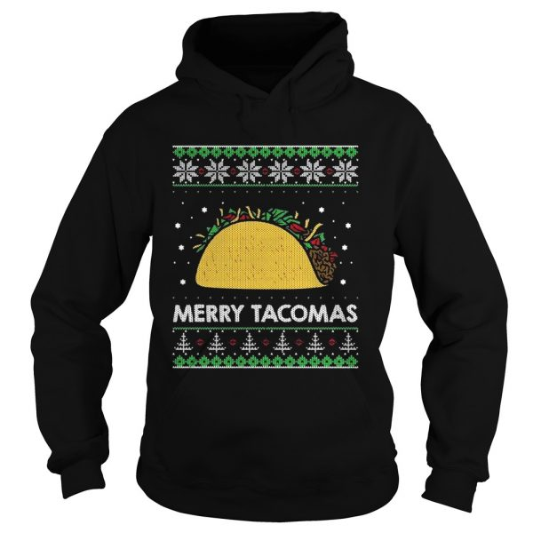 Taco Funny Ugly Christmas Sweater Style  Hoodie