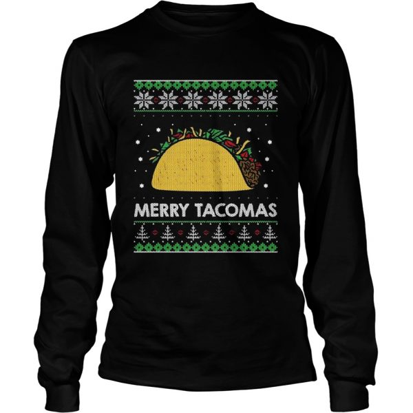 Taco Funny Ugly Christmas Sweater Style  Long Sleeve