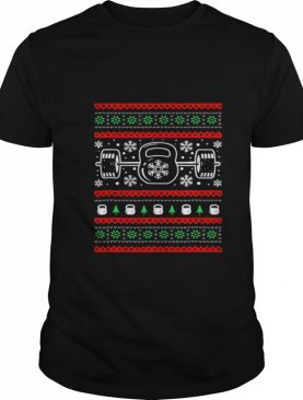 Ugly Christmas Sweater Workout shirt